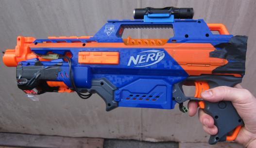 Buy Nerf N-Strike Elite Rapidstrike CS18 Blaster Online at Low Prices in  India - Amazon.in